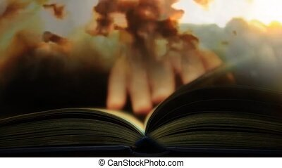 The book of suffering and war. Read a book about the war 63...