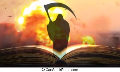 The book of the war. Book written by blood