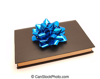 The book with a bow