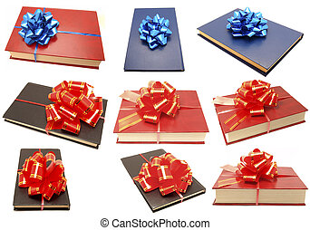The book with a bow. Set