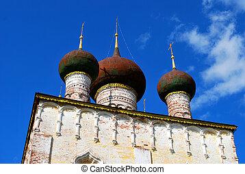 The Borisoglebsky monastery in Rostov the Great, Yaroslavl Oblast, Russia