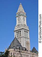 The Boston Custom House