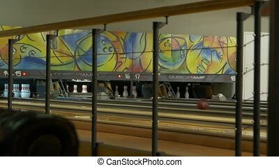 The Bowling Ball Pins - Bowling lanes ball candlepin game...