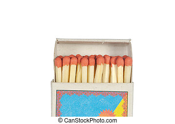 The box with matches