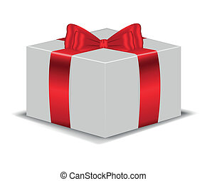 The box with red bow