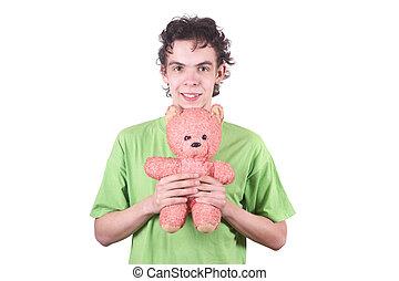 The boy and bear