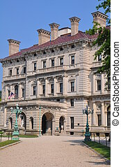 The Breakers Mansion in Newport
