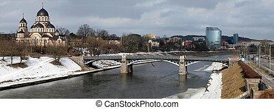 The bridge an church