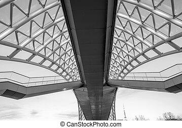 The Bridge of Peace over the Kura River