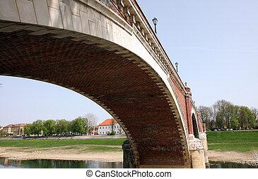 The bridge over the Kupa, Sisak