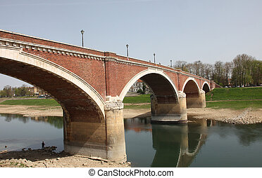 The bridge over the Kupa, Sisak