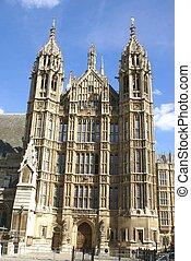 The British parliament. London, UK