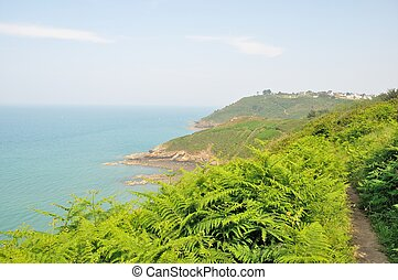 The Brittany coast