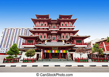 Buddha Tooth Relic Temple - The Buddha Tooth Relic Temple is...