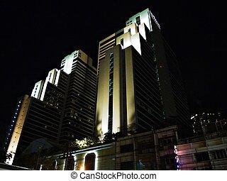 The building in Bangkok