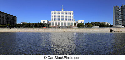 The building of the Russian Federation Government In Moscow