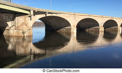 The Bulkeley Bridge in Hartford CT - The Bulkeley Bridge in...