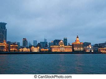 The Bund district - Old Part of Shanghai - The most popular...