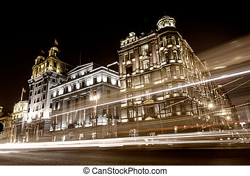 The Bund in Shanghai - The Bund, Old Part of Shanghai