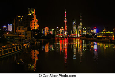 The Bund night