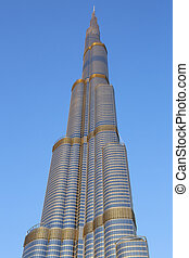 The Burj Al Arab - DUBAI, UAE - NOVEMBER 27: Burj Khalifa on...