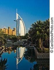 Burj Al Arab - The Burj Al Arab Hotel in Dubai, UAE, taken ...