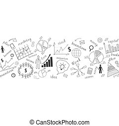The business concept. Vector illustration.
