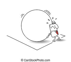 The businessman and the myth of sisyphus - The worker is ...