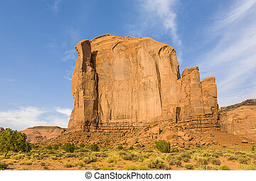 The Butte is a giant sandstone formation in the Monument...