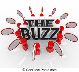 The Buzz People Talking in Speech Bubbles Latest News - The ...