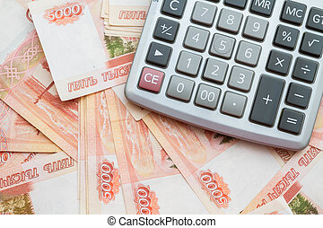 The calculator lies on big Russian money