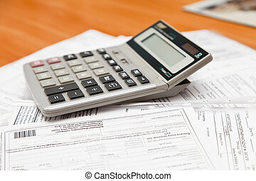 The calculator on documents - The calculator lies on ...