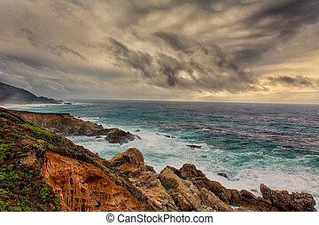 California Central Coast at Big Sur