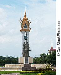 The Cambodian Vietnamese Friendship Monument