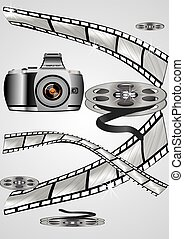 the camera and film