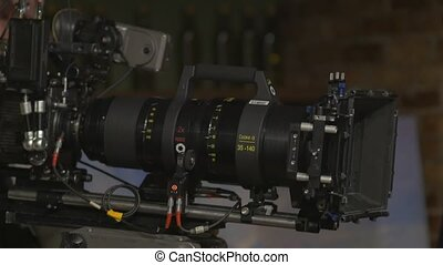 The Camera Lens Film Set - Anamorphic film zoom lens 35-140...