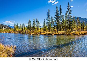 The Canadian province of Alberta - Beautiful Lake Vermilion...