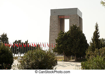 The Canakkale Martyrs Memorial, Gallipoli - Canakkale...