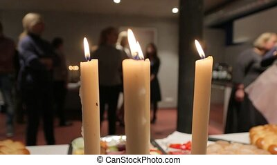 The Candles At A Party