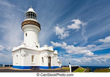 The Cape Byron lighthouse, New South Wales, Australia