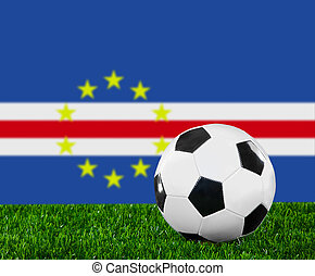 The Cape Verde flag