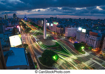 The Capital City of Buenos Aires in Argentina - Buenos Aires...