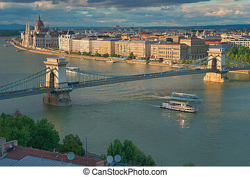 The Capital City of Hungary, Budapest