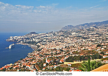 The capital of Madeira Funchal city