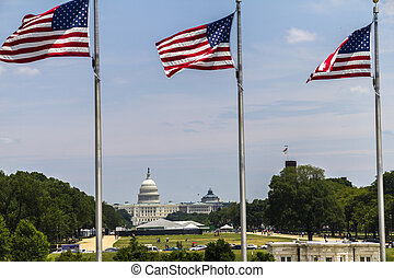 The Capitol of the US in Washington