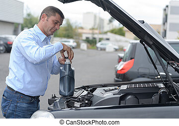 the car lubricant