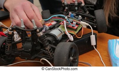 The Car with Remote - Car with remote control electronic...