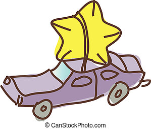 The car with star