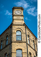 Carlton Building - The Carlton Buildings in Hebden Bridge,...