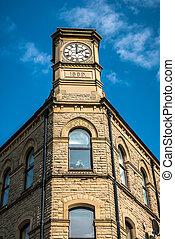 Carlton Building - The Carlton Buildings in Hebden Bridge,...